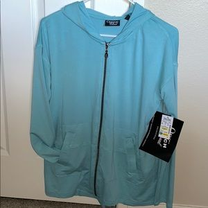 NWT ONQUE CASUAL ZIP UP JACKET